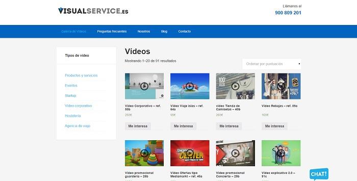 visual service