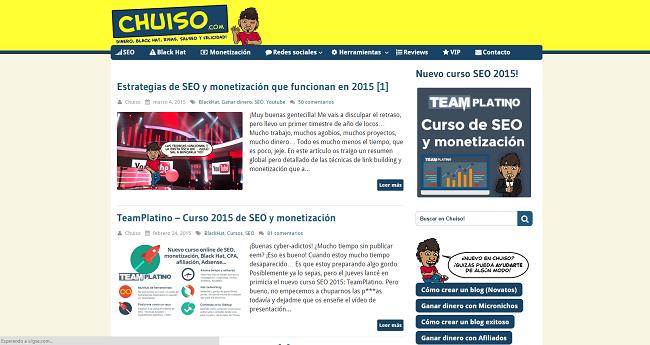 blog de chuiso