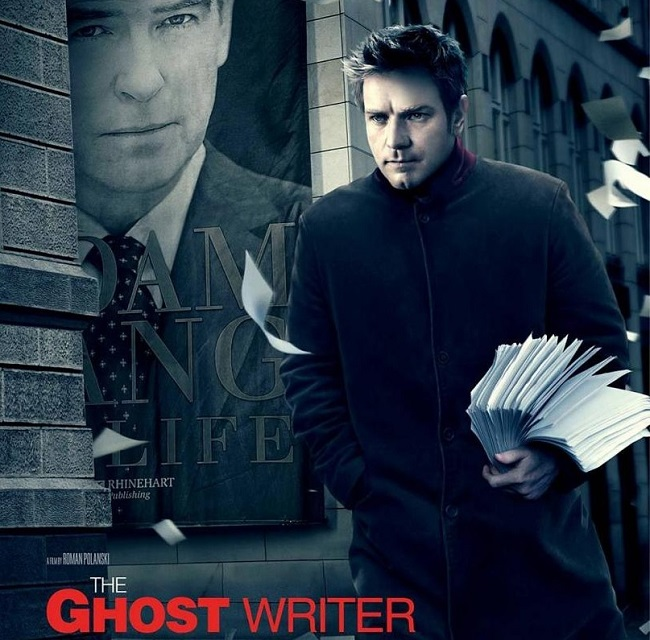 ghost writer pelicula
