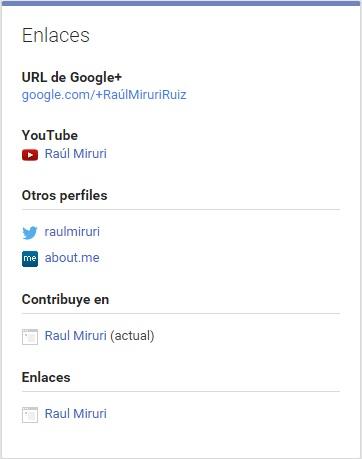 enlaces google+