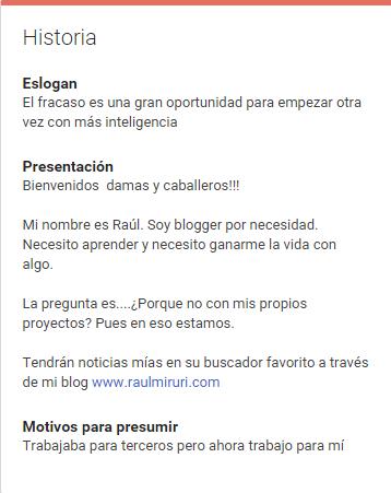 historia google+