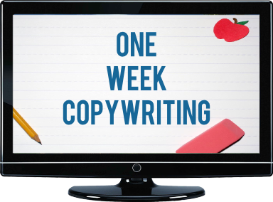 one week copywriting