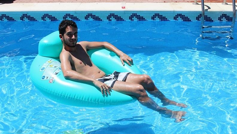 javi pastor piscina