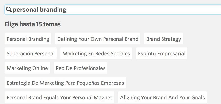 meetup personal branding