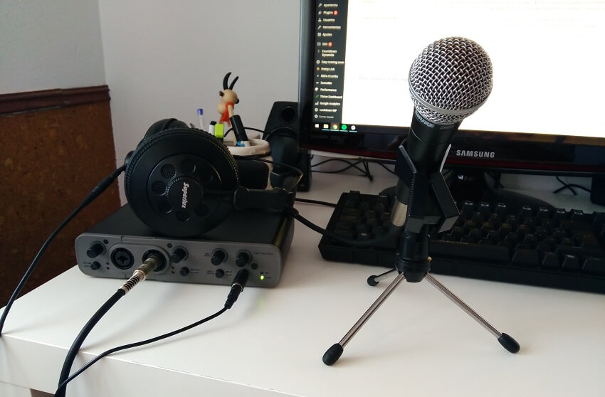 equipo podcast