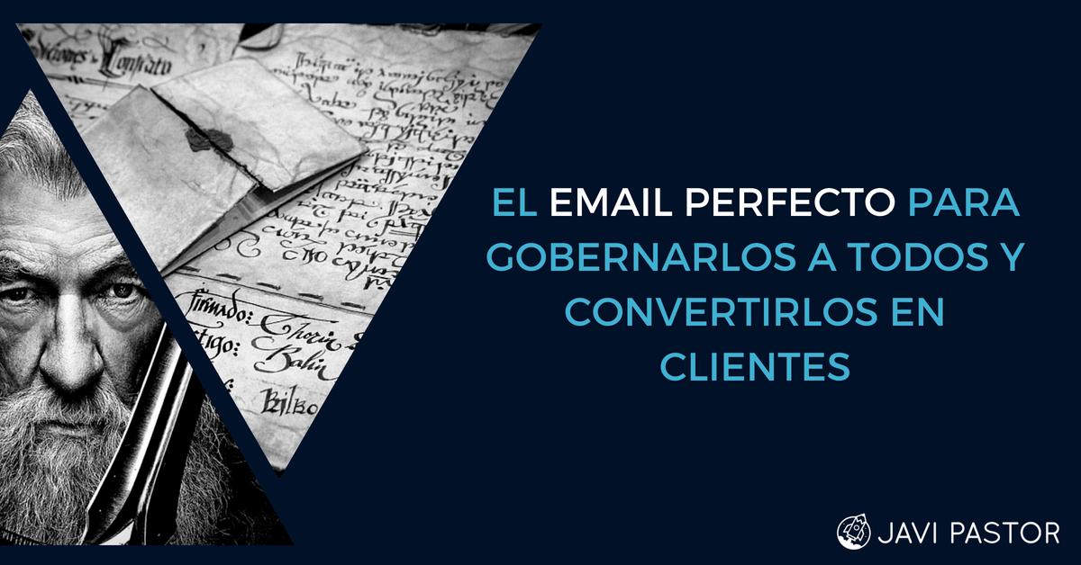 email para conseguir clientes