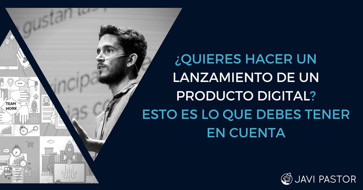 lanzamiento producto digital