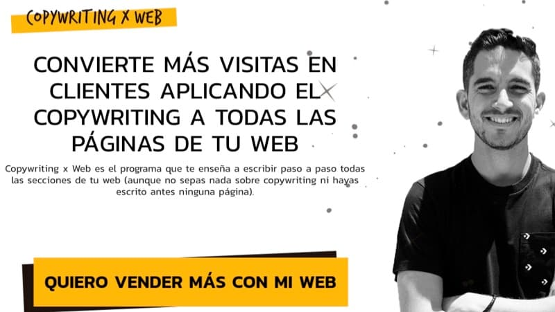 Curso de copy Copywriting x Web