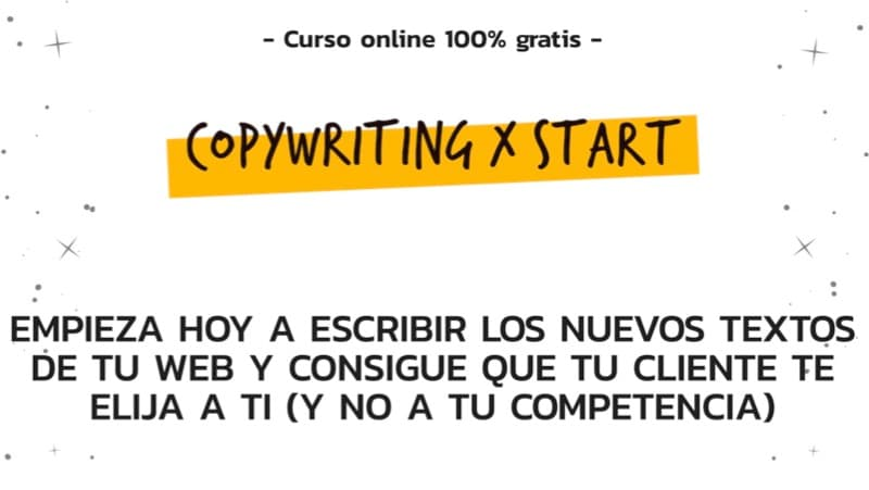 Curso de copy Copywriting x Start