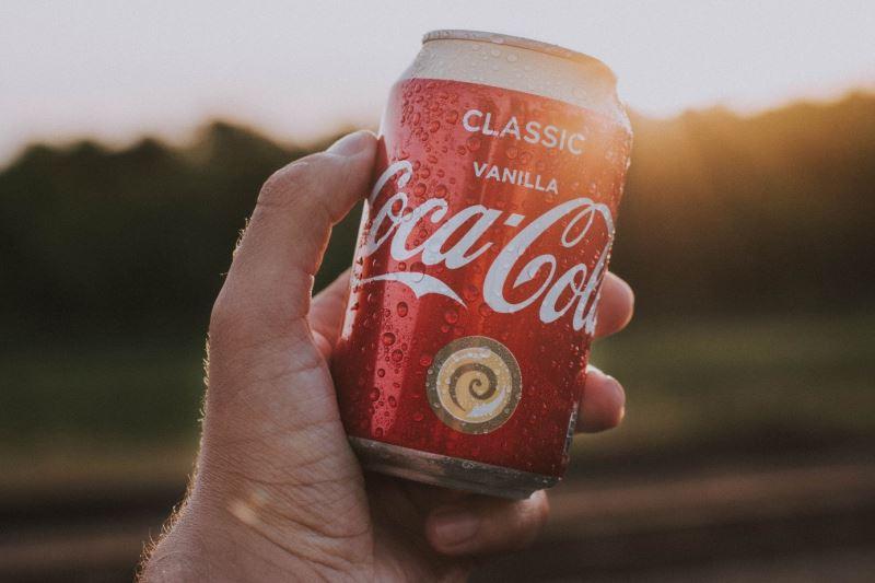 Coca cola de vainilla